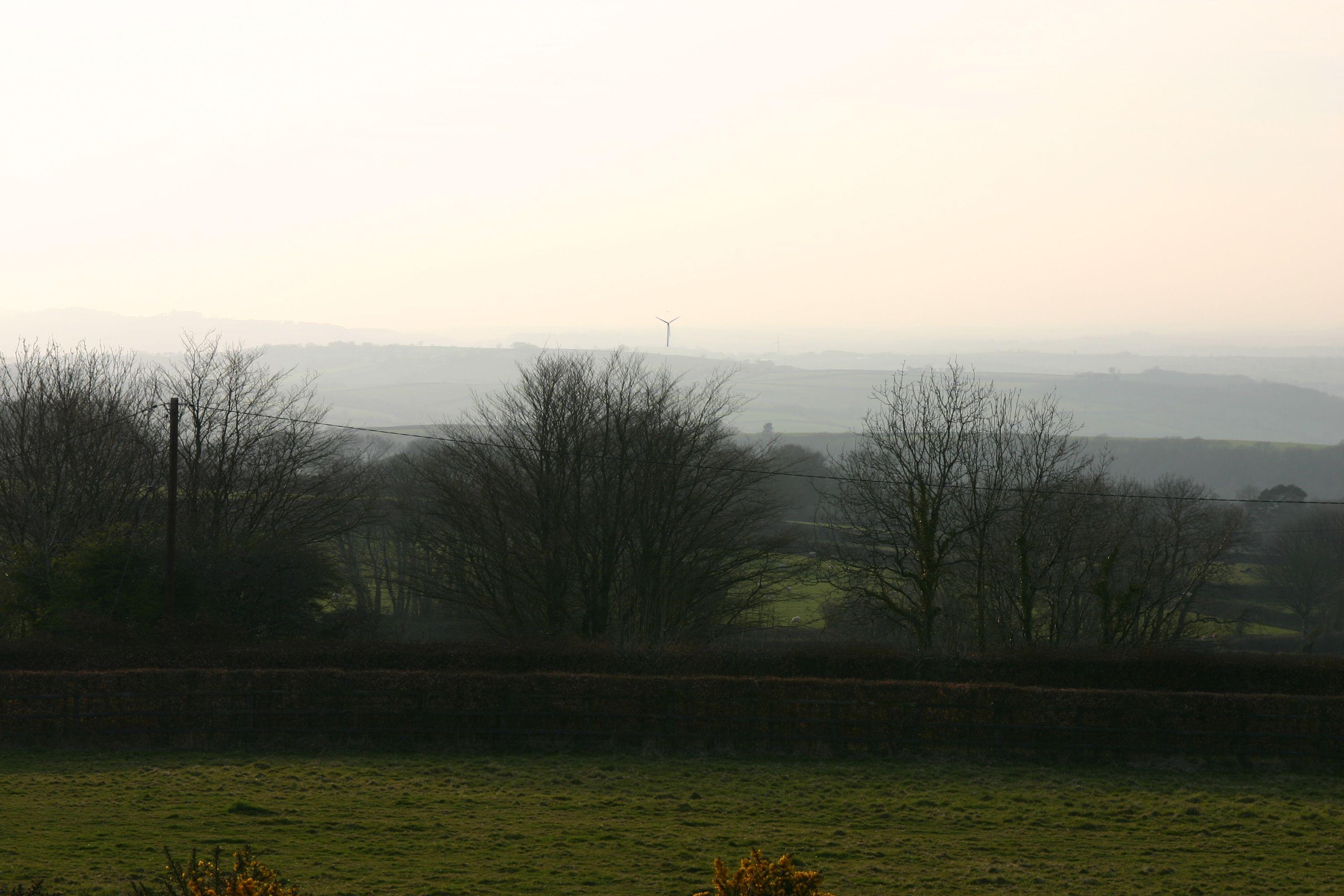 Ridgecombe Turbine from Brent Tor